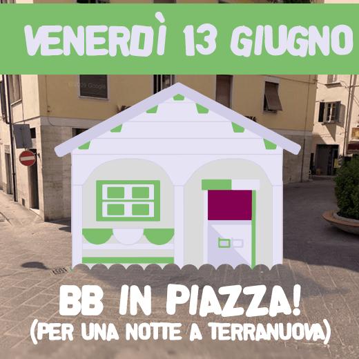 News: BB in Piazza per Una Notte a Terranuova!